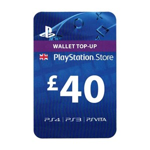 Playstation Network PSN UK 40£
